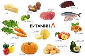 продукты питания содержащие витамины